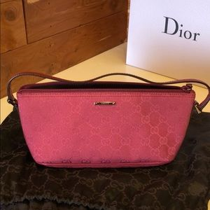 Authentic gucci small handbag